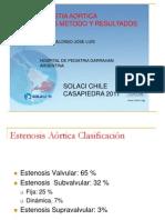 Valvuloplastia Aortica. Indicaciones, método y resultados
