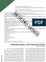 Culturalismo Juridico Teoria Tridimensional