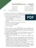 2011-12 (3) TESTE 10º GEOG A [JAN - CRITÉRIOS CORREÇÃO] (RP)