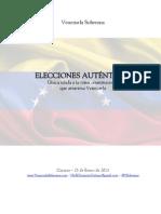 Elecciones Auténticas