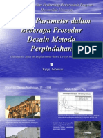 Kajian Parameter Dalam Beberapa Prosedur Desain Metoda Perpindahan (Parametric Study On Displacement-Based Method Procedures), (c) Yoppy Soleman, Hasanuddin University, Makassar, 2006