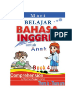 Belajar Bahasa Inggris, Comprehension, THERE IS-THERE ARE, Book 4 dan Kunci Jawaban-KEY