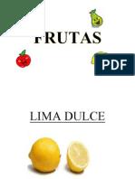Album de Frutas