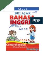 Belajar Bahasa Inggris, Comprehension, GREETINGS (SALAM), Book 5 dan Kunci Jawaban-KEY