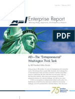 AEI Enterprise Report, February 2013
