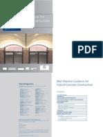 Best Practice Guidance for Hybrid concrete construction
