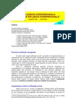 Seminar v - Complezenta Interpersonala