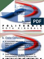 C4302 Transportation Planning (O-D Study)