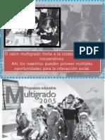 Propuesta Educativa Multigrado