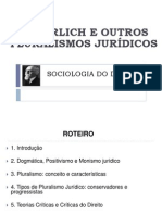 76175731 Sociologia Do Direito Pluralismo e Ehrlich