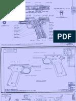 m1911 Blueprints Scans