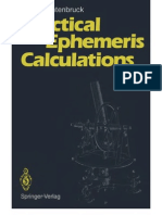 Practical Ephemeris Calculations - Oliver Montenbruck