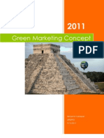 Green Marketing Concept