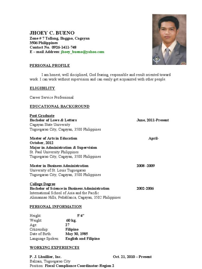 jhoeybueno resume