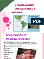 Las Civilizaciones Mesoamericanas y Andinas 2 Para Enero