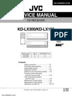 JVC KD-LX100J Manual de Servicio.pdf