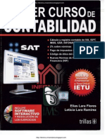Primer Curso de Contabilidad - 22a Edición - Elías Lara Flores