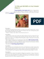 Cach Nhan Biet Va Hau Qua Khi Thieu Cac Loai Vitamin o Tre (Phan 2)