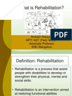 Class-1- Rehabilitation- What It is.