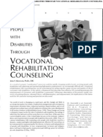 Empowering People With Disabilities Through Vocational Rehabilitation Counseling