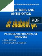 infections and antibiotics