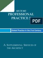 Propessional Practice Report 443
