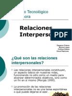 Relaciones Inter Person Ales