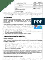 Guía 3- Combinación de documentos