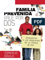 Familia prevenida VALE POR DOS