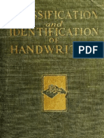 1922 - Handwriting