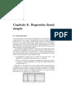 Ejercicios Regresion Lineal Simple