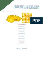 Informe de Frutas 1