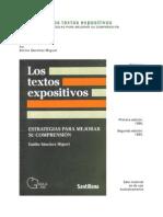2SANCHEZ MIGUEL Emilio La Psicologia de a Comprension de Textos