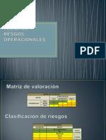 Matriz de Peligros y Resgos Operacionales