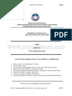 Physics Paper 1 Trial Spm Sbp 2009 New2