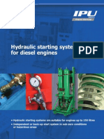 Hydraulic Starting Systems for Diesel Engines