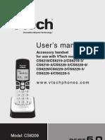 VTECH CS6219 manual