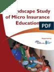 Micro Insurance - A Landscape Study