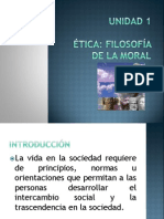 Etica- Filosofia de La Moral