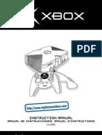 Original Xbox manual user guide