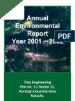 Annual Env. Report