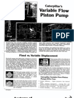 Caterpillar's Variable Flow Piston Pump
