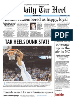The Daily Tar Heel for February 25, 2013