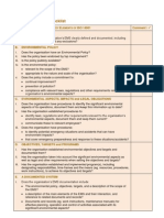 EMS Check List