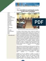 Frederico Sotero Profere Palestra Sobre Gestão Participativa Em Rede Na Assembléia Legislativa Do Rio Grande Do Sul