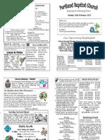 PBC Bulletin - February 24