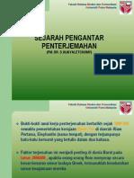 M1 Sejarah Pengantar Penterjemahan.ppt