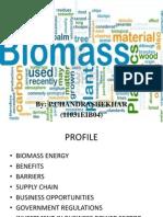 Biomass waste