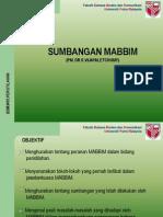 M2.SUMBANGAN MABBIM.ppt