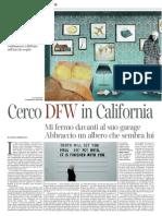 Paolo Giordano Cerco DFW in California